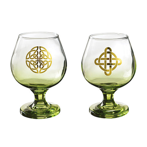 Set of 2 Irish Cream Glasses