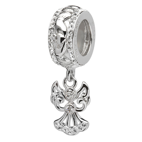 Swarovski Claddagh Angel Origin Bead