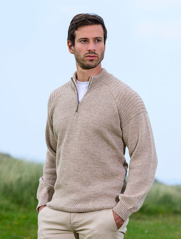 Merino Rivved Shoulder Toyer Sweater