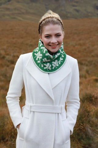 Shamrock Snood Scarf