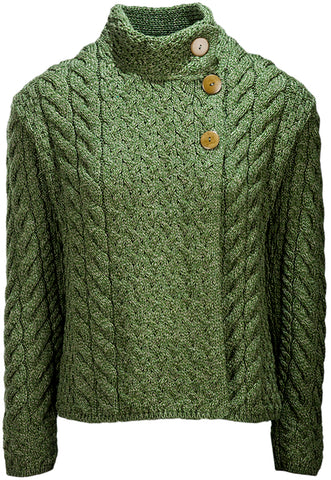 Super Soft Trellis and Cable Cardigan