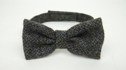 Multi Blue Wool Tie