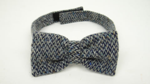 Multi Grey Wool Tie