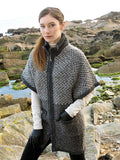 Jacquard Tweed Coat