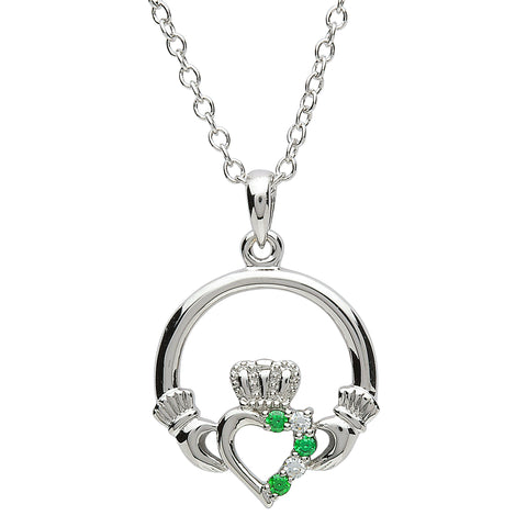ShanOre Claddagh Platinum Plated Necklace
