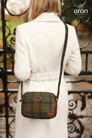 Bag | Aran Tweed Leather Shoulder Bag