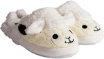 Aran Sheep Slip-on Kids Slippers