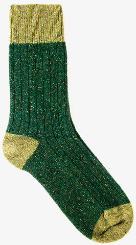 Ribbed Socks Greens