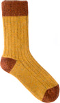 Ribbed Socks Mustard/Gold