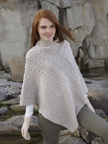 Knit Irish Cape