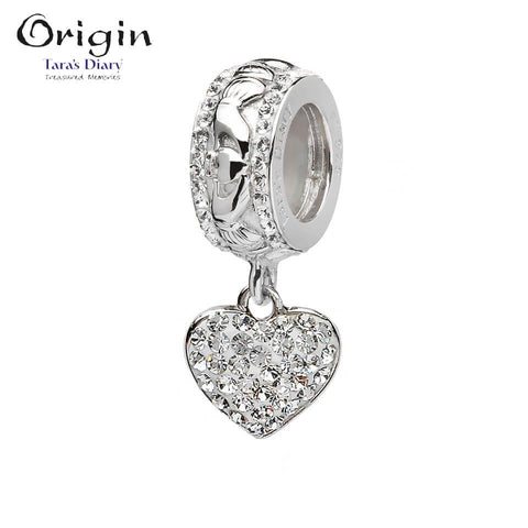 Swarovski Drop Heart Origin Bead