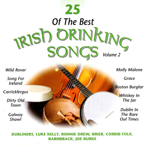 25 of the Best Irish Pub Songs Volume 2