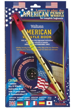 Waltons American Tin Whistle CD Pack