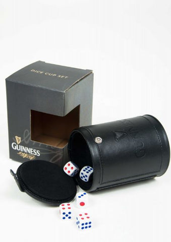Guinness Dice Cup Set Gift