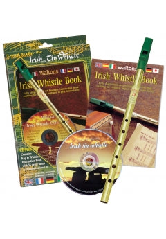 Waltons Irish Tin Whistle Book and CD Pack