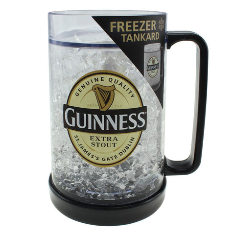 Guinness Tankard Freezer Glass