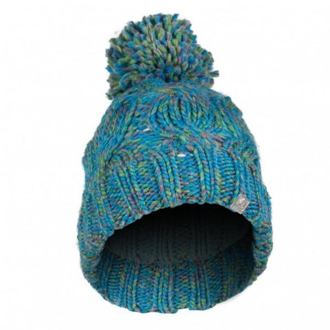 Olann Cyan Bobble Hat