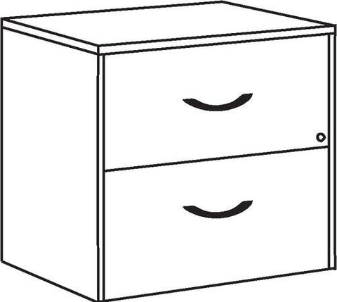 "2-Drawer Lateral File, 37"" H x 24"" W x 30"" H"