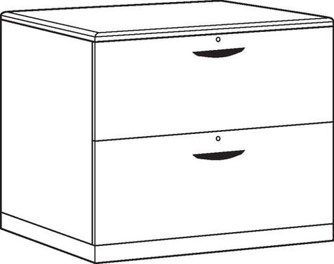 2-Drawer Executive Lateral File
