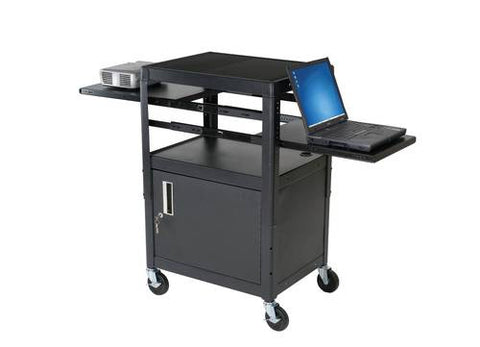 Dual-Adjustable Laptop Cart