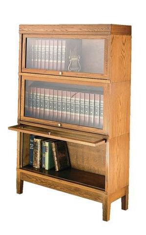 "Barrister Sectional Bookcase, 11-1/2"" D"
