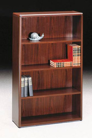 "HON®, 10700 Laminate Collection, Bookcase, 4-Shelf, 36"" W x 13"" D x 57"" H"