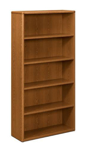 "HON®, 10700 Laminate Collection Bookcase, 5-Shelf, 36"" W x 13"" D x 71"" H"
