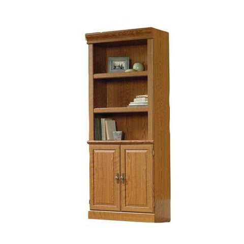 "Orchard Hills Bookcase with Doors, 29-1/2"" W x 13-1/2"" D x 71-1/2"" H"