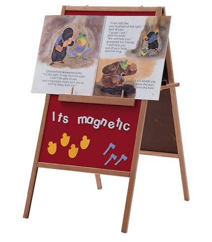 Magnetic/Flannel Easel