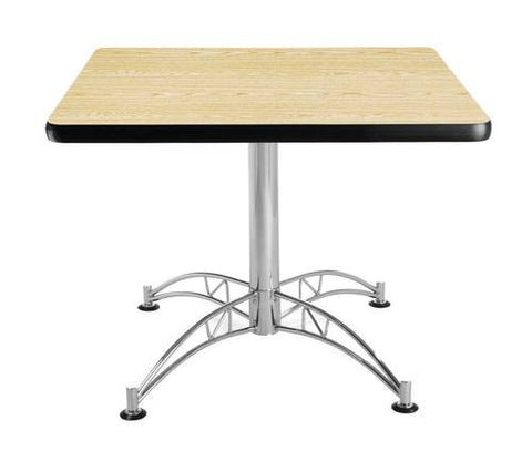 "Table, 36"" Square, Chrome-Plated Base"