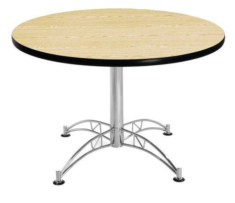 "Table, 42"" Round, Chrome-Plated Base"