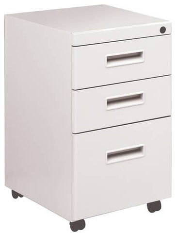 Trace™ Mobile Pedestal, 2 Box Drawers and 1 File Drawer