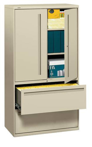 "Lateral File Storage Cabinet, 36"" W x 20"" D x 67"" H"