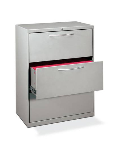 Shown is Model 73582 3-Drawer File with Arch Pulls. Model 73580 is 2-Drawer Lateral File.
