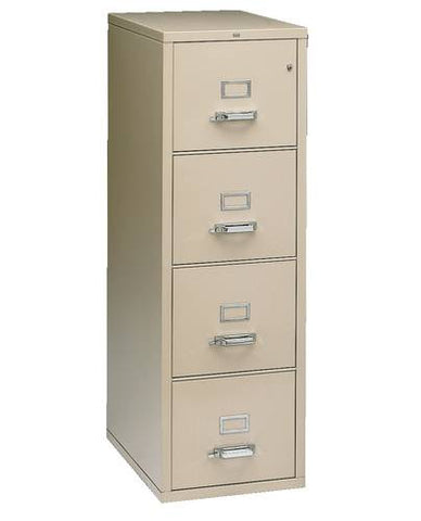FlameSafe™ Fire-Resistant Vertical File, 4-Drawer Letter