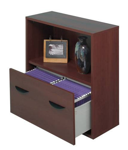 Apres™ Modular Storage System, Shelf Unit with File Drawer