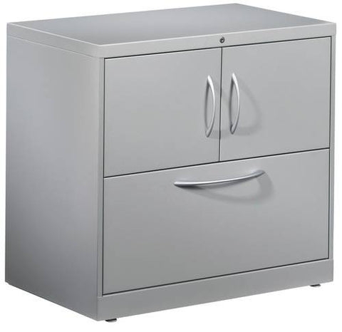 Flagship®, Series File Center - Lateral File with 2-Door Storage