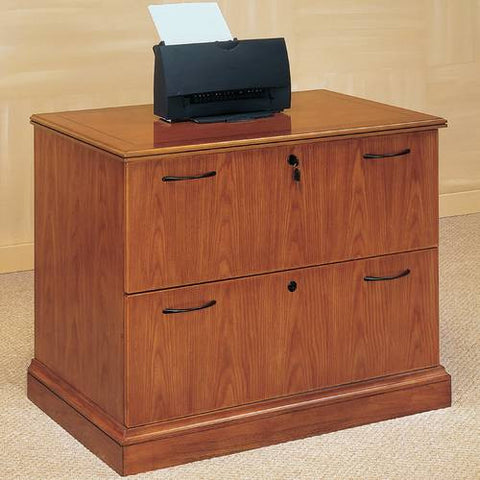 "Belmont Series 2-Drawer Lateral File, 36"" W x 24"" D"