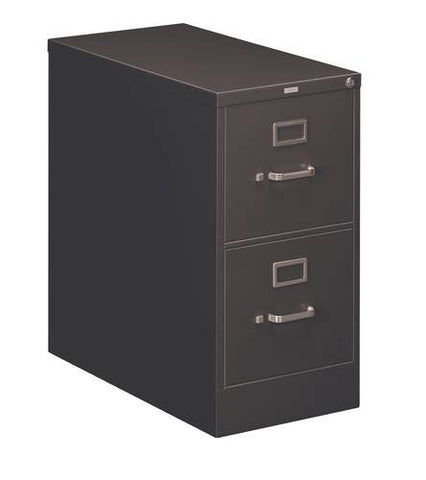 "Hon®, Heavy-Duty Vertical File, 2-Drawer Letter, 15"" W x 28-1/2"" D x 29"" H"