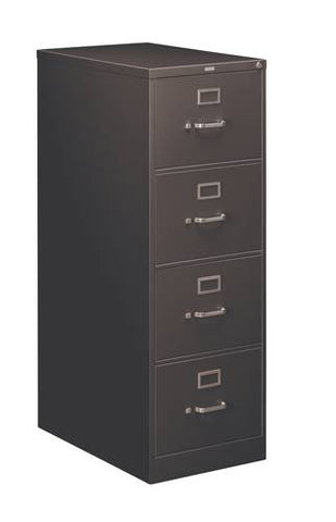 "Hon Heavy-Duty Vertical File, 4-Drawer Legal, 18-1/4"" W x 28-1/2"" D x 52"" H"