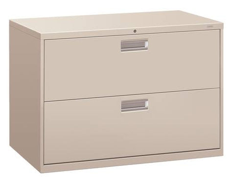"Hon® Brigade® 2-Drawer Lateral File, 42"" W x 19-1/4"" D x 29"" H"