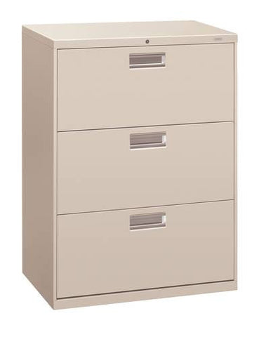 "Hon® Brigade® 3-Drawer Lateral File, 30"" W x 19-1/4"" D x 41"" H"