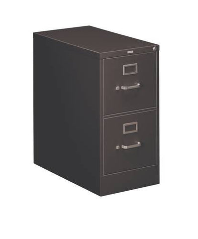 "Hon® Heavy-Duty Vertical File, 2-Drawer Letter, 15"" W x 26-1/2"" D x 29"" H"