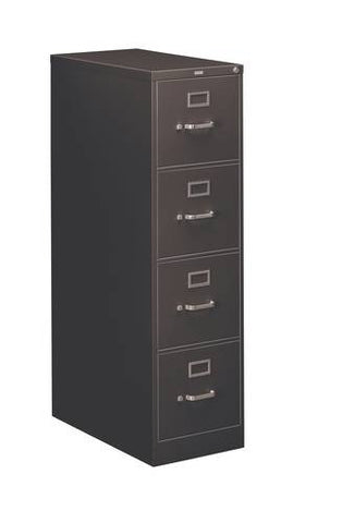 "Hon®, Heavy-Duty Vertical File, 4-Drawer Letter, 15"" W x 26-1/2"" D x 52"" H"