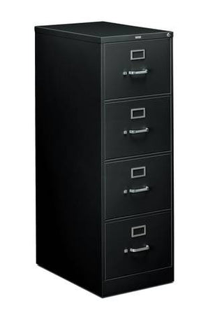 "Hon Heavy-Duty Vertical File, 4-Drawer Legal, 18-1/4"" W x 26-1/2"" D x 52"" H"