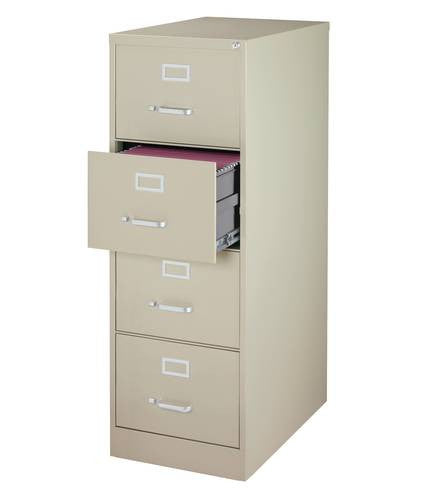 Heavy Duty Vertical File Cabinet 4 Drawer Legal 26 12 Deep Atd