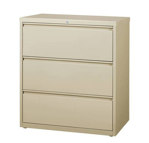 "Premium Lateral File, 3 Drawers, 36"" Wide"