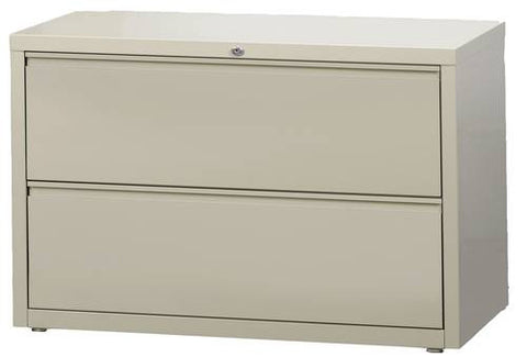 "Premium Lateral File, 2 Drawers, 42"" Wide"