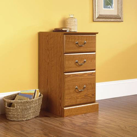 "Orchard Hills 3-Drawer Pedestal, 15-1/2"" W x 16"" D"
