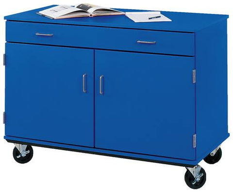 Colorful Mobile Classroom Drawer/Door Cabinet